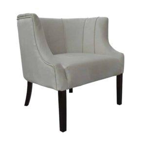 Fotel Begonia, french velvet 6740, 8 ciemny orzech (1)