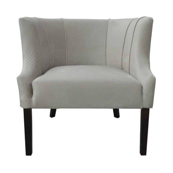 Fotel Begonia, french velvet 6740, 8 ciemny orzech (2)