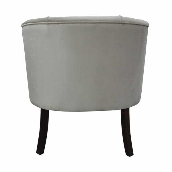 Fotel Begonia, french velvet 6740, 8 ciemny orzech (5)