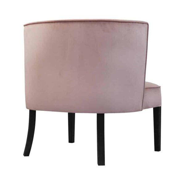 Fotel Bourbon, french velvey 682, 6 czarny. Producent mebli tapicerowanych domartstyl Kępno. Wyjątkowe meble do Twojego domu.