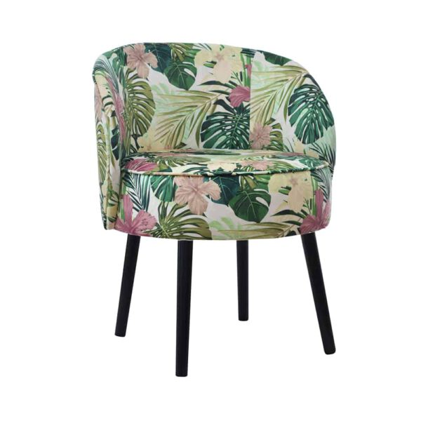 Tkanina TROPIC- fotel tapicerowany prosto od producenta mebli domartstyl.
