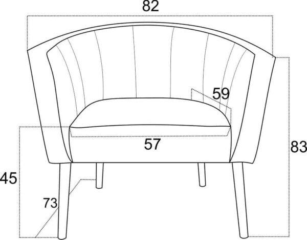 Fotel Maya