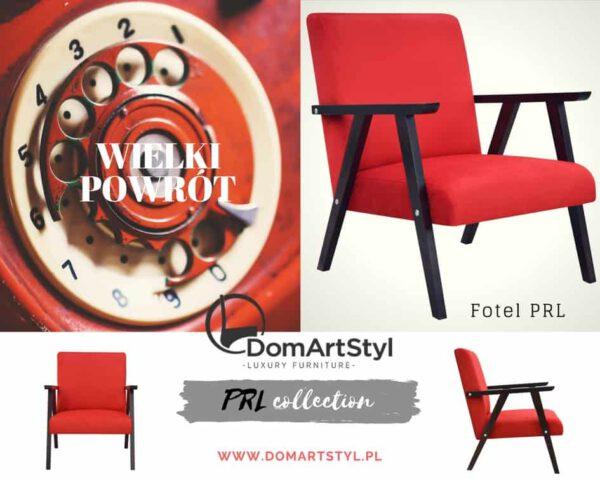 ponadczasowy fotel PRL