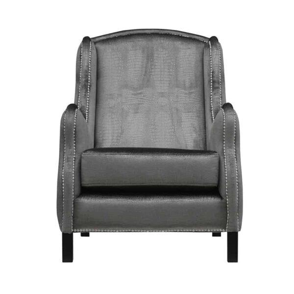fotel tapicerowany domartstyl - producent mebli tapicerowanych. Wyjątkowy fotel seville ze sprężynami na siedzisku