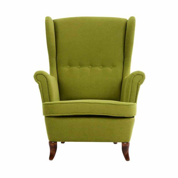 Fotel i podnóżek Uszak, orion 14, 15 rustikal (1)