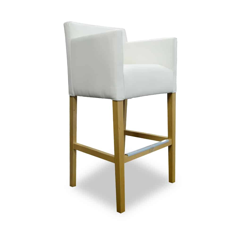 Armchair Bar Stool With Lower Armrests Domartstyl