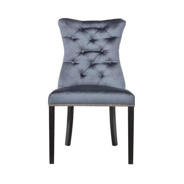 Krzesło Ashley, tkanina powierzona, 7 venge (1)