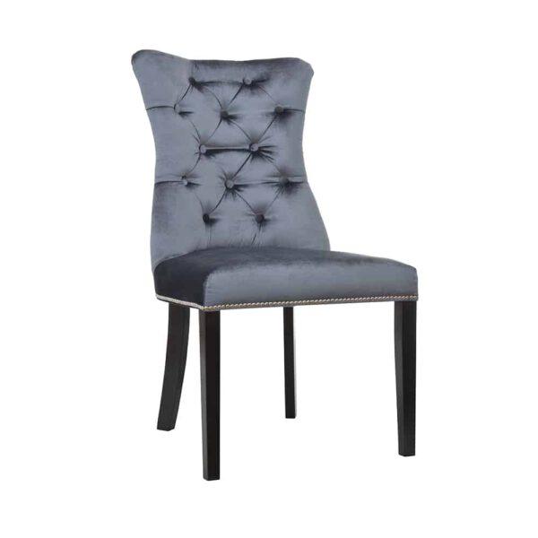 Krzesło Ashley, tkanina powierzona, 7 venge (2)