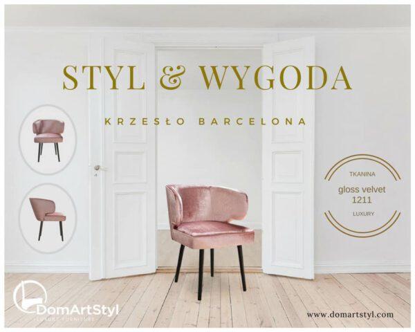Styl i wygoda krzesło Barcelona