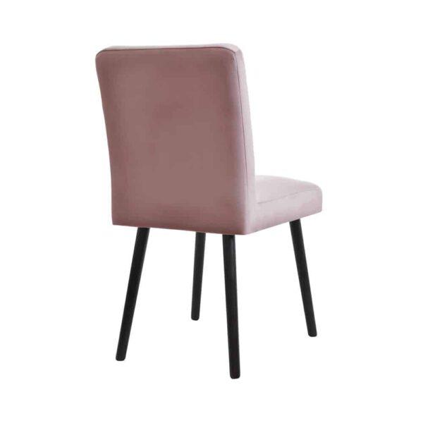 Krzesło Bergen, french velvet 682, 7 venge (4) domartstyl