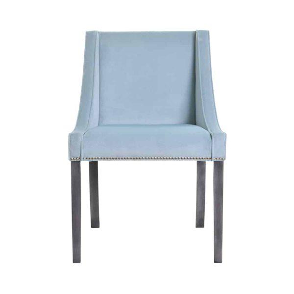 Krzesło Chanel, fuego 164, patyna czarna, tasiemka pineskowa (1)