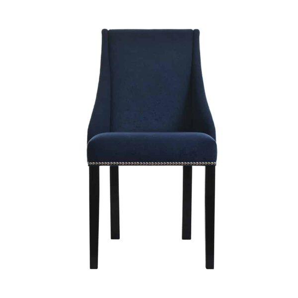 Krzesło Flora, kolekcja tkanin DomArtStyl Azzarro 1, 8 ciemny orzech (2)
