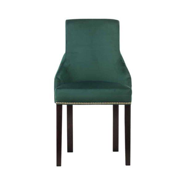 Krzesło Kaczorek, french velvet 658, 8 ciemny orzech (2)