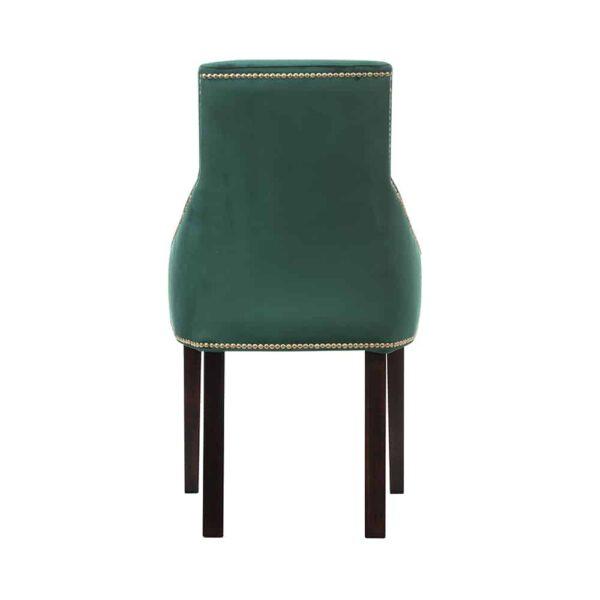 Krzesło Kaczorek, french velvet 658, 8 ciemny orzech  (5)