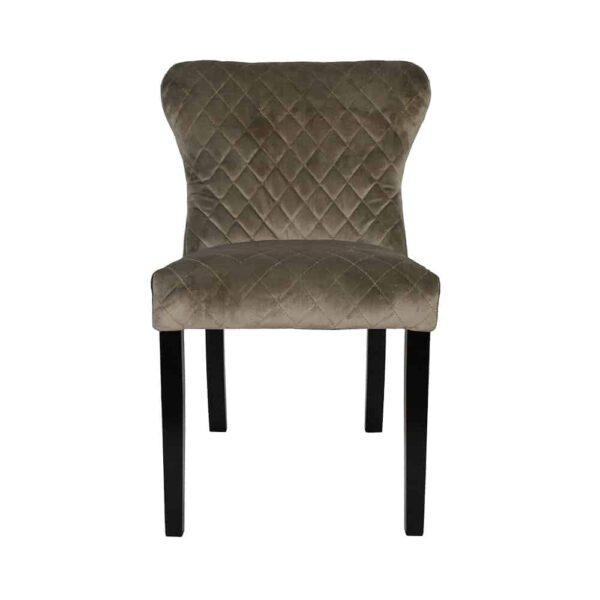 Krzesło Malaga, tkanina powierzona douglas toupe, 6 czarny (2)