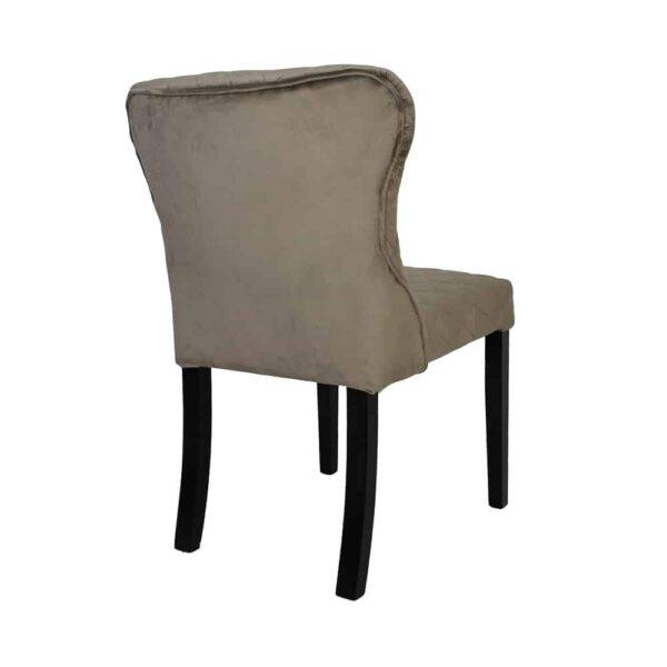 Krzesło Malaga, tkanina powierzona douglas toupe, 6 czarny (4)