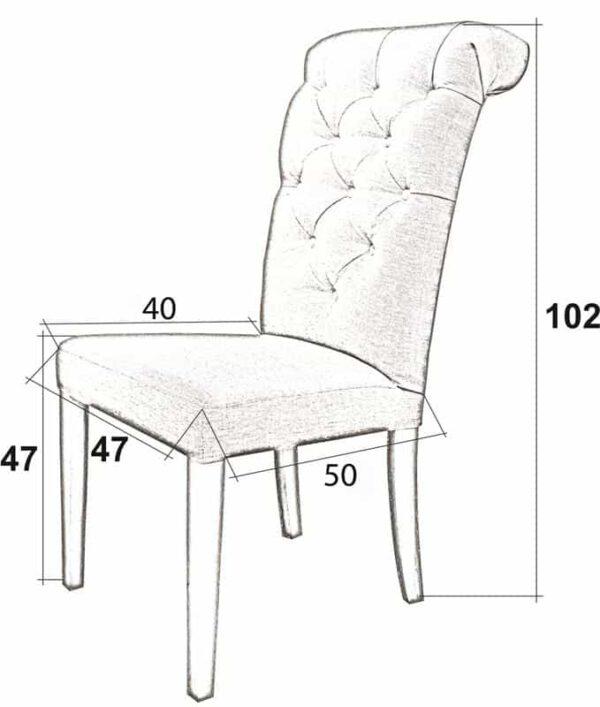 Krzesło_Antoinette