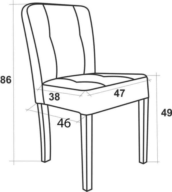 Krzesło_Glamour