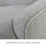 Lamówka wkolorze tkaniny