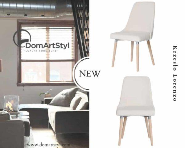 Krzesło Lorenzo nowoczesny model idealny do nowoczesnych wnętrz