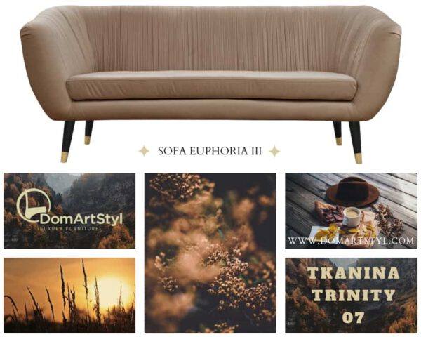 Oryginalny model sofa euphoria III
