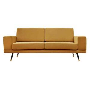 Sofa Modesto, fresh 37, czarny+złoty (1)