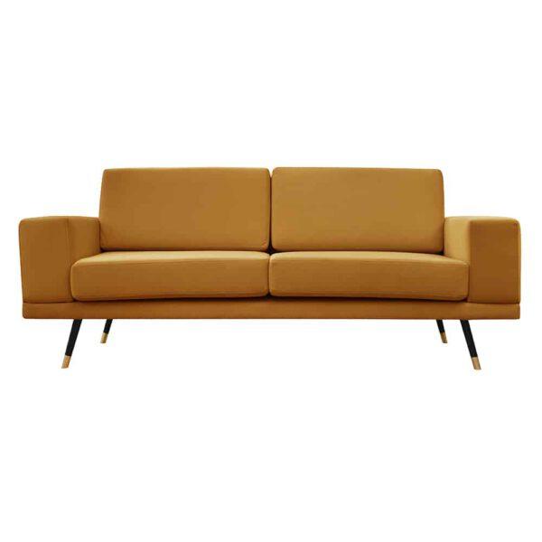 Sofa Modesto, kronos 1, czarny+złoty (1)