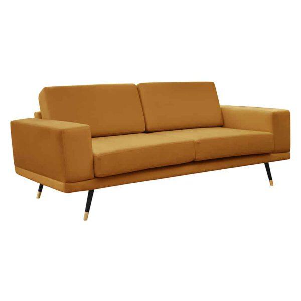 Sofa Modesto, kronos 1, czarny+złoty (2)