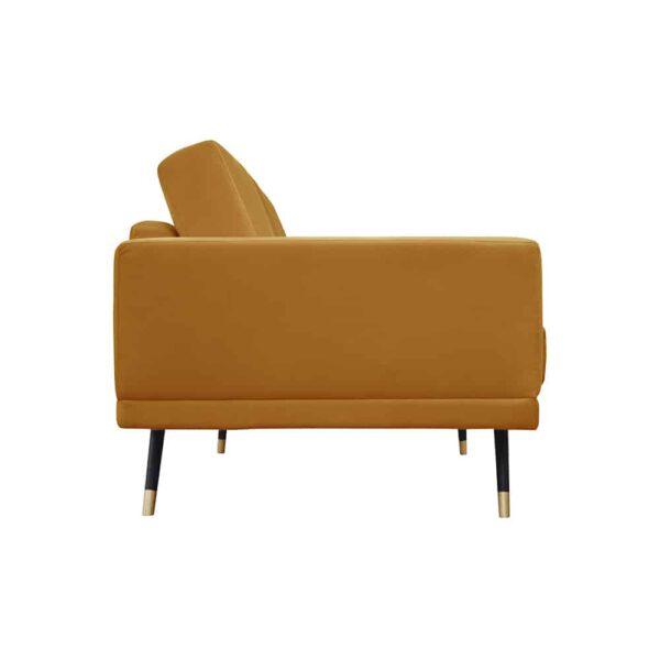 Sofa Modesto, kronos 1, czarny+złoty (3)