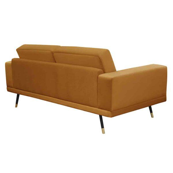 Sofa Modesto, kronos 1, czarny+złoty (4)