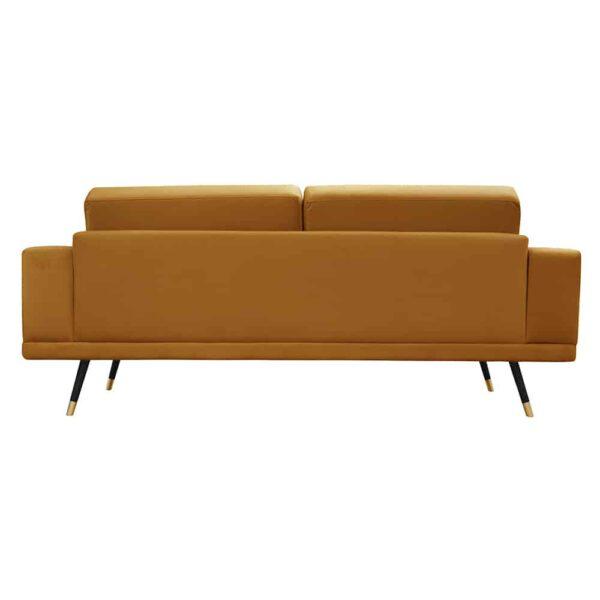 Sofa Modesto, kronos 1, czarny+złoty (5)