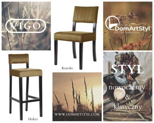 vigo hoker i krzesło styl nowoczesny i klasyczny