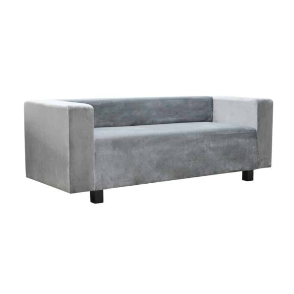 Sofa Amsterdam II, french velvet 666, 6. czarny (2)