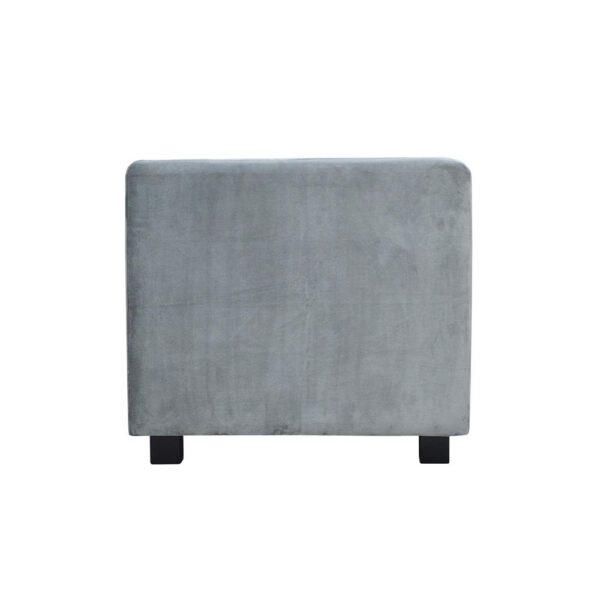 Sofa Amsterdam II, french velvet 666, 6. czarny (3)