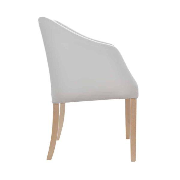 Fotel Mario, french velvet 674, 13 buk (2)