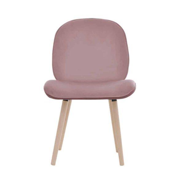 Krzesło Modern, french velvet 682, 13 buk lakier (1)