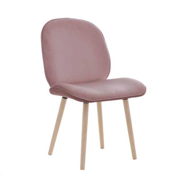 Krzesło Modern, french velvet 682, 13 buk lakier (2)