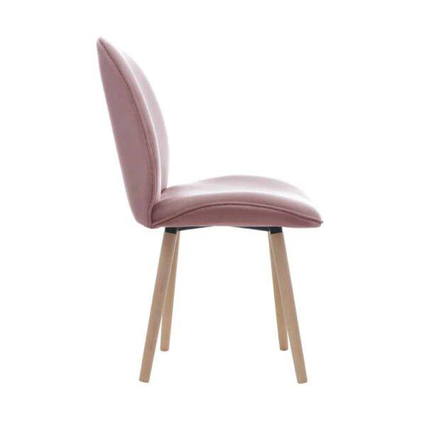 Krzesło Modern, french velvet 682, 13 buk lakier (3)