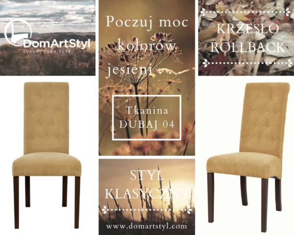 Krzesło Rollback skośne siedzisko i wygodne oparcie