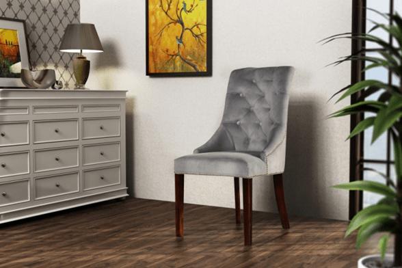 Tapicerowane krzesło Madam Chesterfield