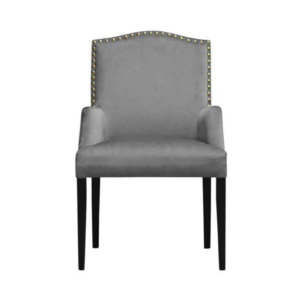 Fotel Lusso, french velvet 666, 6 czarny (1)