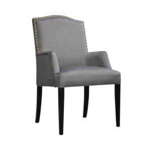 Fotel Lusso, french velvet 666, 6 czarny (2)