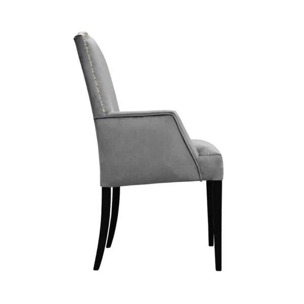 Fotel Lusso, french velvet 666, 6 czarny (3)