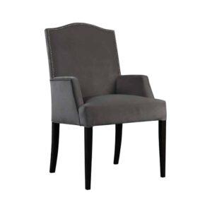 Fotel Lusso, french velvet 674, 6 czarny