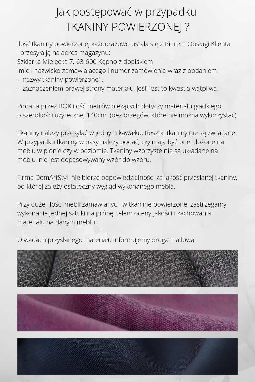 Tkaniny powierzone