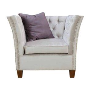 Fotel Louis, primo 8808, poduszka 8814, 12 orzech (1)