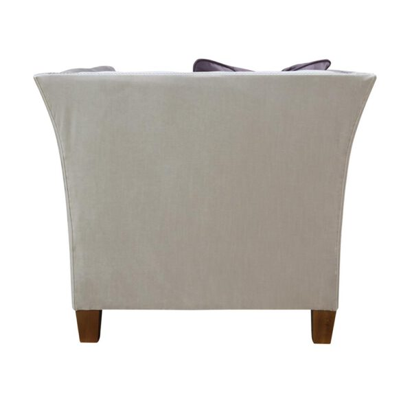 Fotel Louis, primo 8808, poduszka 8814, 12 orzech (2)