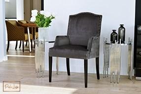 Fotel Lusso z nowej kolekcji mebli DomArtStyl - PERLA LUSSO