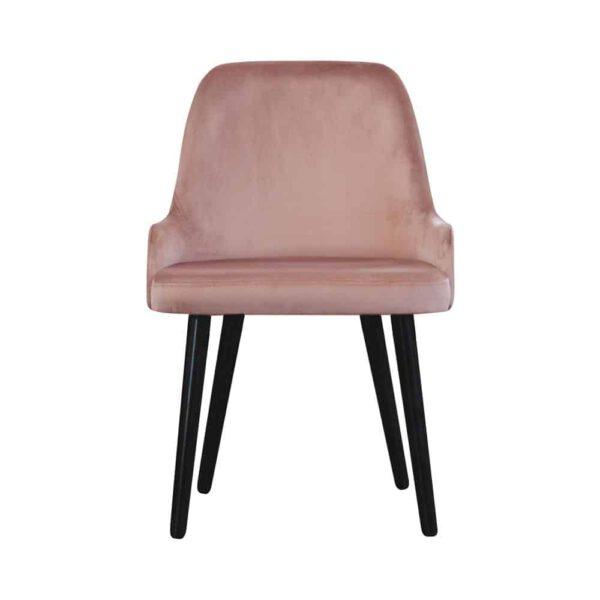 Krzesło Andy, french velvet 682, 6 czarny (1) (Copy)