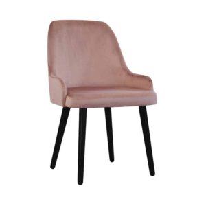 Krzesło Andy, french velvet 682, 6 czarny (2) (Copy)
